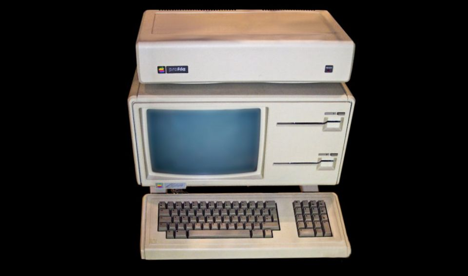 Premiera Apple Lisa